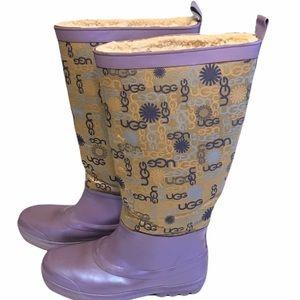 UGG Purple Rainboots